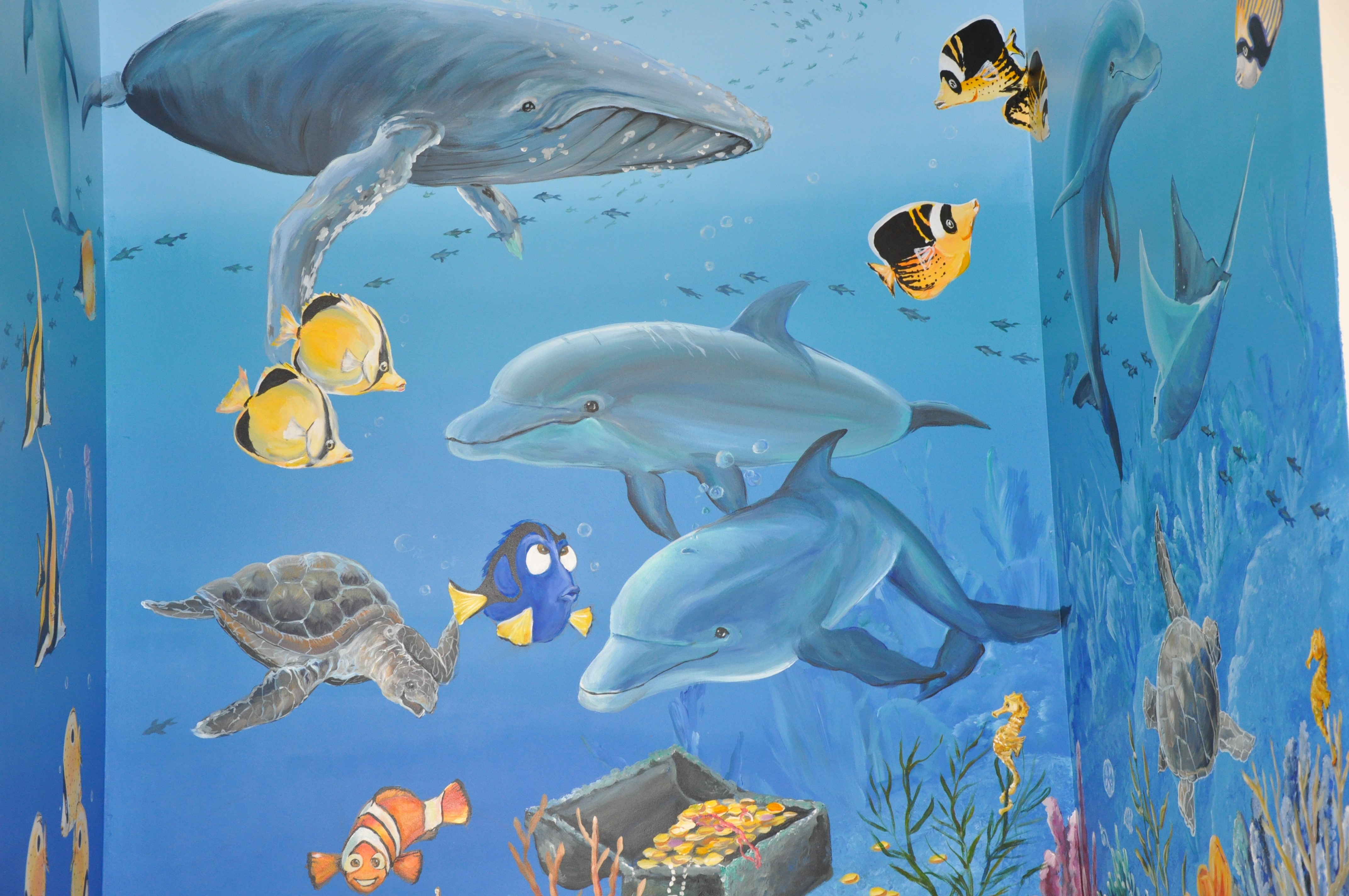 Sea view pediatrics irvine deb construction llc for Blue fish pediatrics