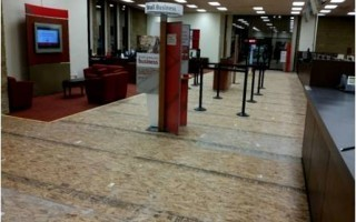 Bank of America Flooring Project – La Palma