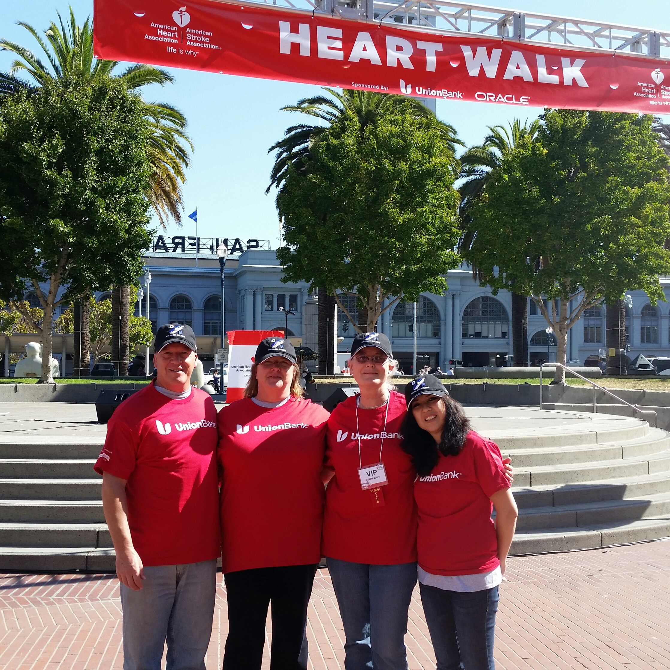 2015 American Heart Association – Bay Area Heart Walk