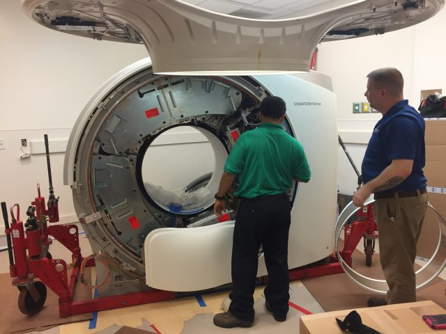 Hoag Hospital CT Scan Equipment Installation – Newport Beach